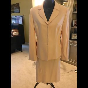 Pale pink suit by Tahari size 8